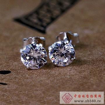双诚珠宝-纯银耳钉05