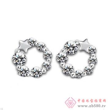 双诚珠宝-纯银耳钉06