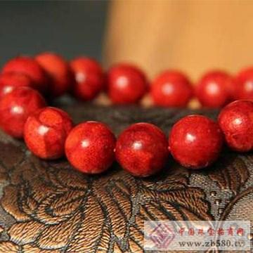 菩提水晶草珊瑚手链