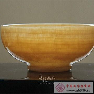 菩提水晶黄玉(方解石)碗