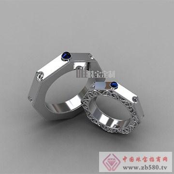 唯一珠宝定制巴洛克婚戒2