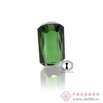 澄之然珠宝绿色碧玺