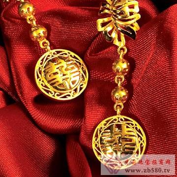 全球行国际黄金-黄金耳坠