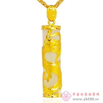 极福珠宝-金镶玉11