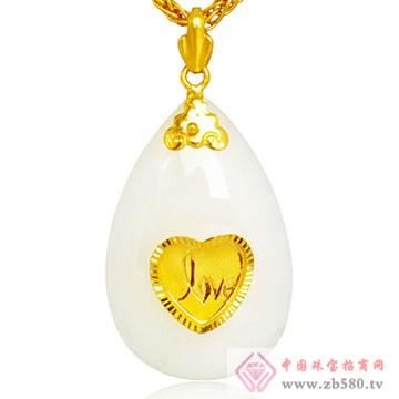 极福珠宝-金镶玉12