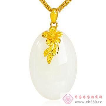 极福珠宝-金镶玉13