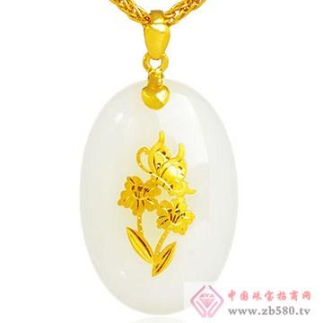 极福珠宝-金镶玉14