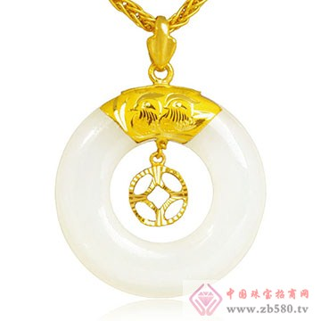 极福珠宝-金镶玉16