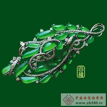 百福珠宝-翡翠胸针02