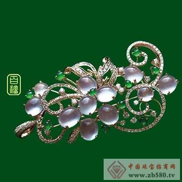 百福珠宝-翡翠胸针03