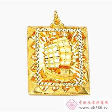 金雅艺-黄金吊坠06