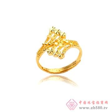金雅艺-黄金戒指05