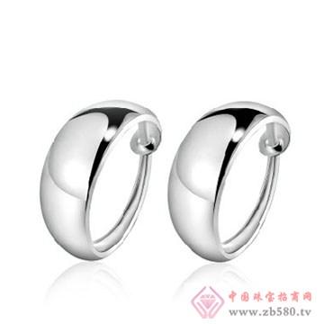 明理珠宝-纯银戒耳饰04