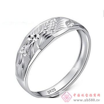 明理珠宝-纯银戒指02