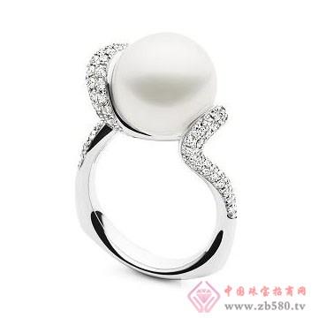 天宇珠宝-珍珠戒指01