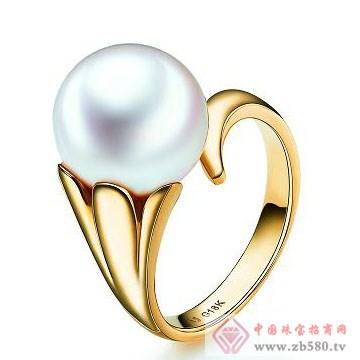 天宇珠宝-珍珠戒指02