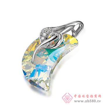 伟杰珠宝首饰-925银吊坠01