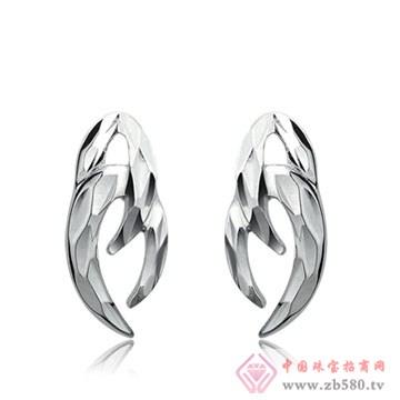 伟杰珠宝首饰-925银耳钉04