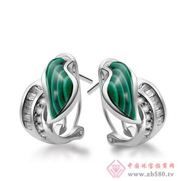 伟杰珠宝首饰-925银耳钉07
