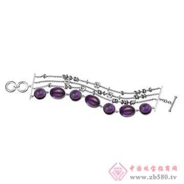 伟杰珠宝首饰-925银手链01
