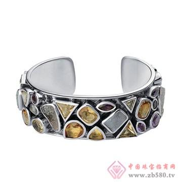 伟杰珠宝首饰-925银手镯01