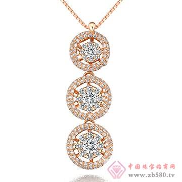 鼎极珠宝-钻石吊坠08