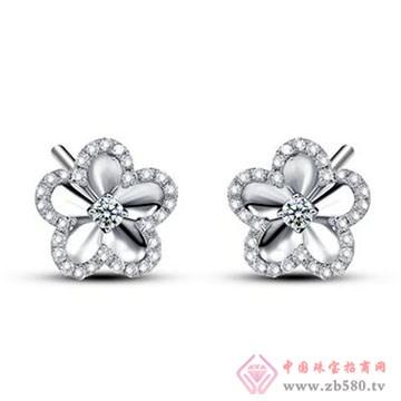 鼎极珠宝-钻石耳饰01