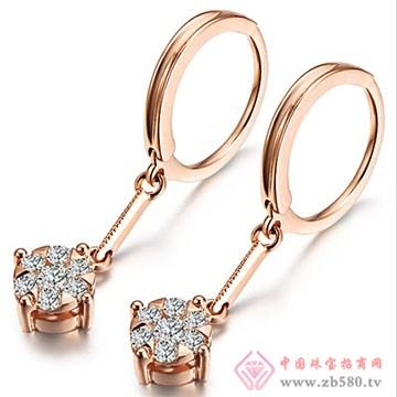 鼎极珠宝-钻石耳饰08