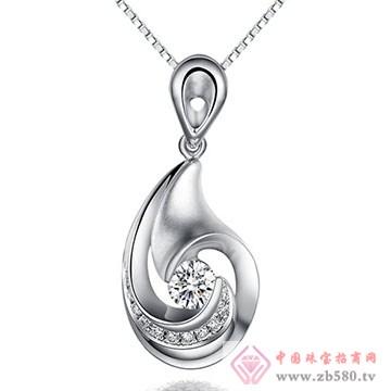 鼎极珠宝-钻石吊坠01