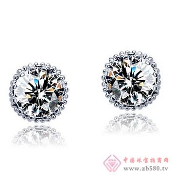 长宁钻石-钻石耳钉03