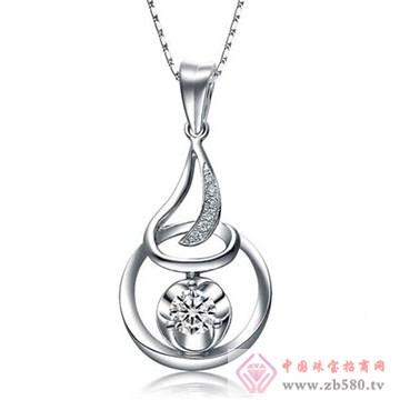 多利珠宝-钻石吊坠2