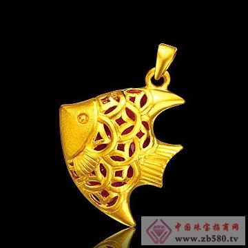 佳盛珠宝-黄金吊坠02
