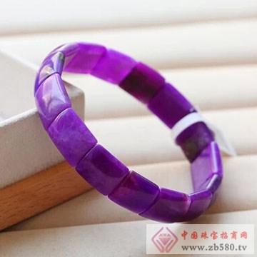 柏豪珠宝-紫红宝石手镯
