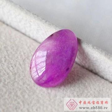 柏豪珠宝-紫红宝石原石02