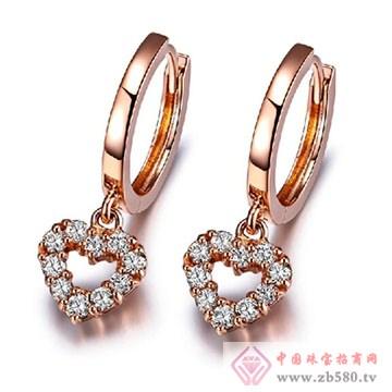 阿斯卡珠宝-钻石耳饰