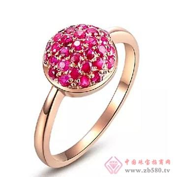 阿斯卡珠宝-红宝石戒指01
