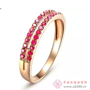 阿斯卡珠宝-红宝石戒指02