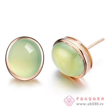 阿斯卡珠宝-葡萄石耳饰