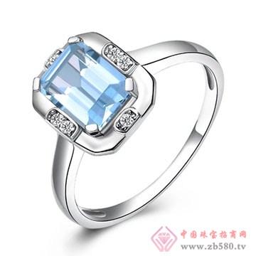 阿斯卡珠宝-海蓝宝石戒指01