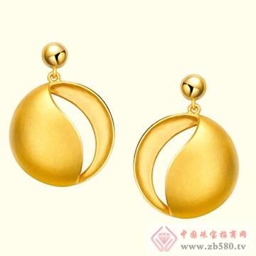 古名珠宝-黄金耳坠03
