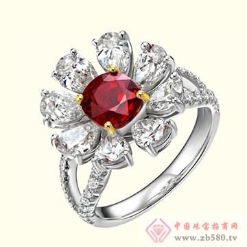 古名珠宝-彩宝戒指07