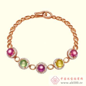 古名珠宝-彩宝手链
