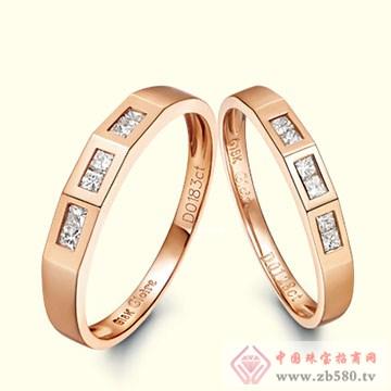 古名珠宝-K金钻石戒指07