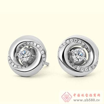 古名珠宝-钻石耳饰