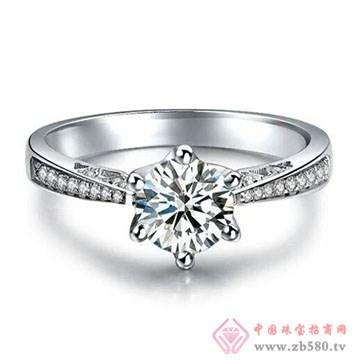 兄弟美-18K金镶嵌钻石戒指02