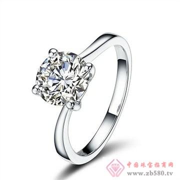 兄弟美-18K金镶嵌钻石戒指01