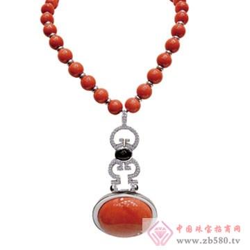 芝琦珠宝-珊瑚项链02