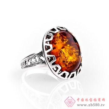 芝琦珠宝-琥珀戒指