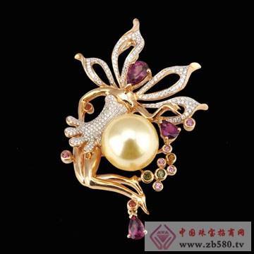 芝琦珠宝-珍珠胸针01