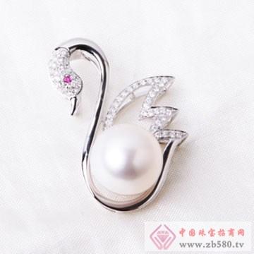 芝琦珠宝-珍珠胸针02
